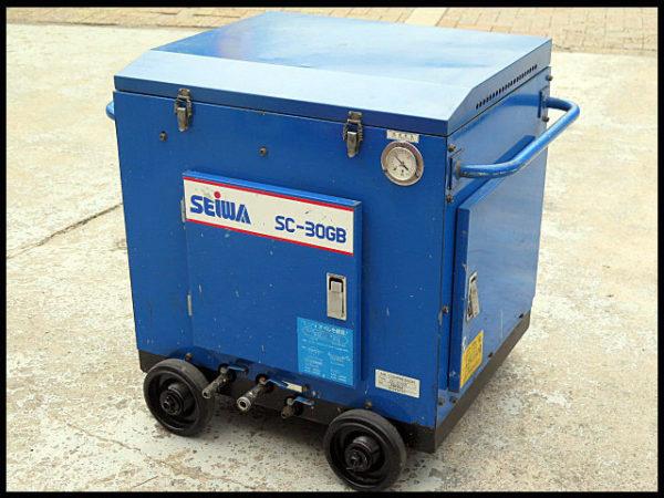 精和産業 防音型 エンジン エアーコンプレッサー SC-30GB